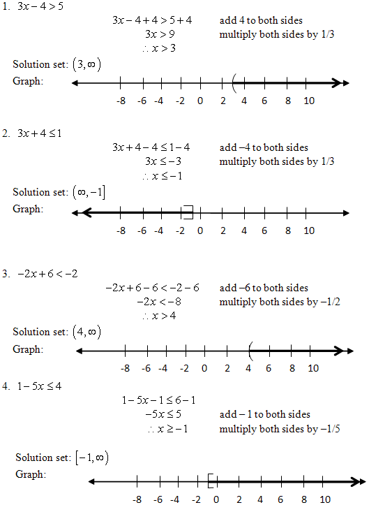 Two Step Inequalities Worksheets on math inequality worksheets