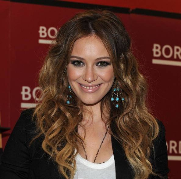 Celebrity Ombre Hairstyle - Hilary Duff