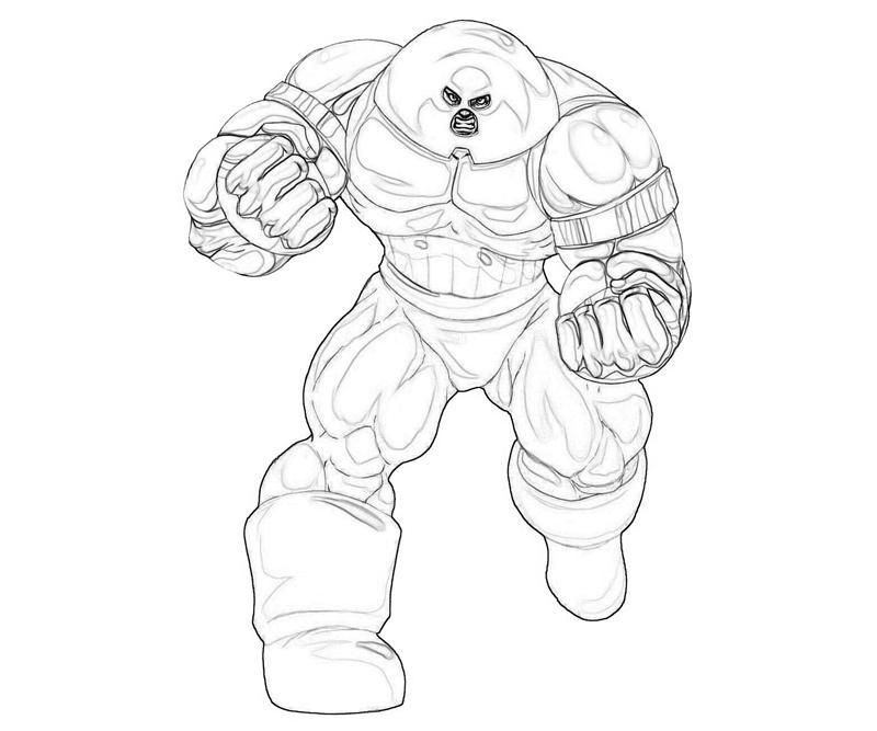 marvel juggernaut coloring pages - photo#2