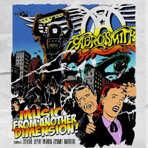 Aerosmith Music Dimension Cover Art