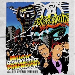 Aerosmith Music Dimension Cover Art