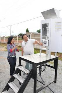 Cristalina, com aproximadamente 50 mil habitantes já se preocupa com a poluição do ar na cidade