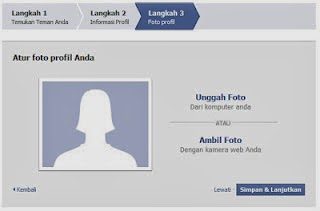 Cara buat Facebook FB baru