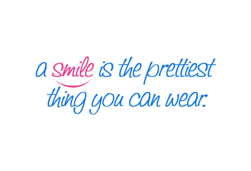 marlis winter a smile is the prettiest thing you can wear