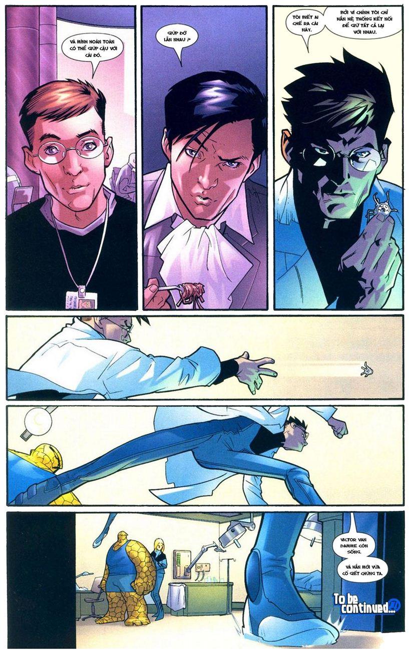 Ultimate Fantastic Four chap 9 - Trang 23