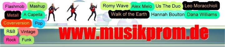 ♫  www.musikprom.de   ♫   Zukünftige und gegenwärtige Youtube Musikstars