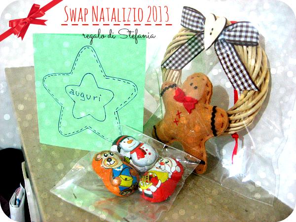 Swap Natalizio 2013: regalo di Stefania