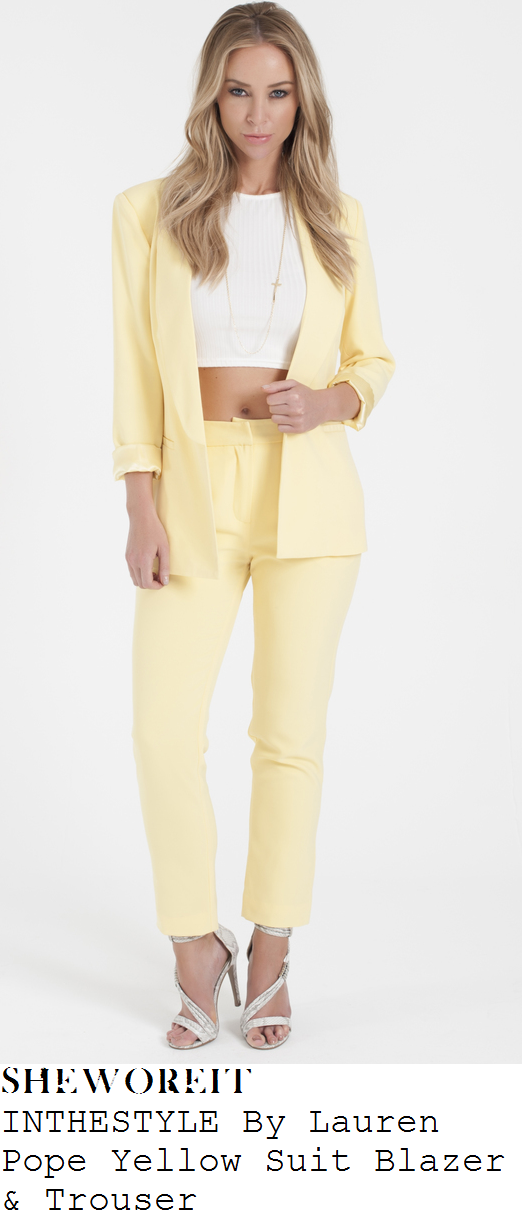 lauren-pope-lemon-yellow-blazer-trousers-suit-co-ords-towie