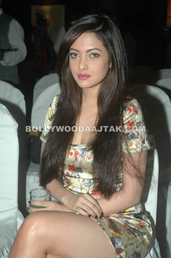 Riya Sen at Event in Floral Dress - HOT