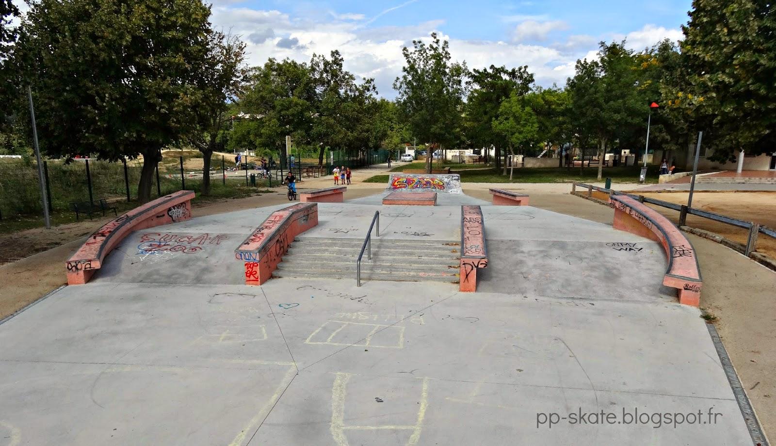 skate park Luynes