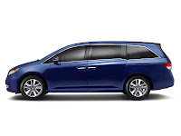 2014 Honda Odyssey Touring Elite Japanese car photos 2
