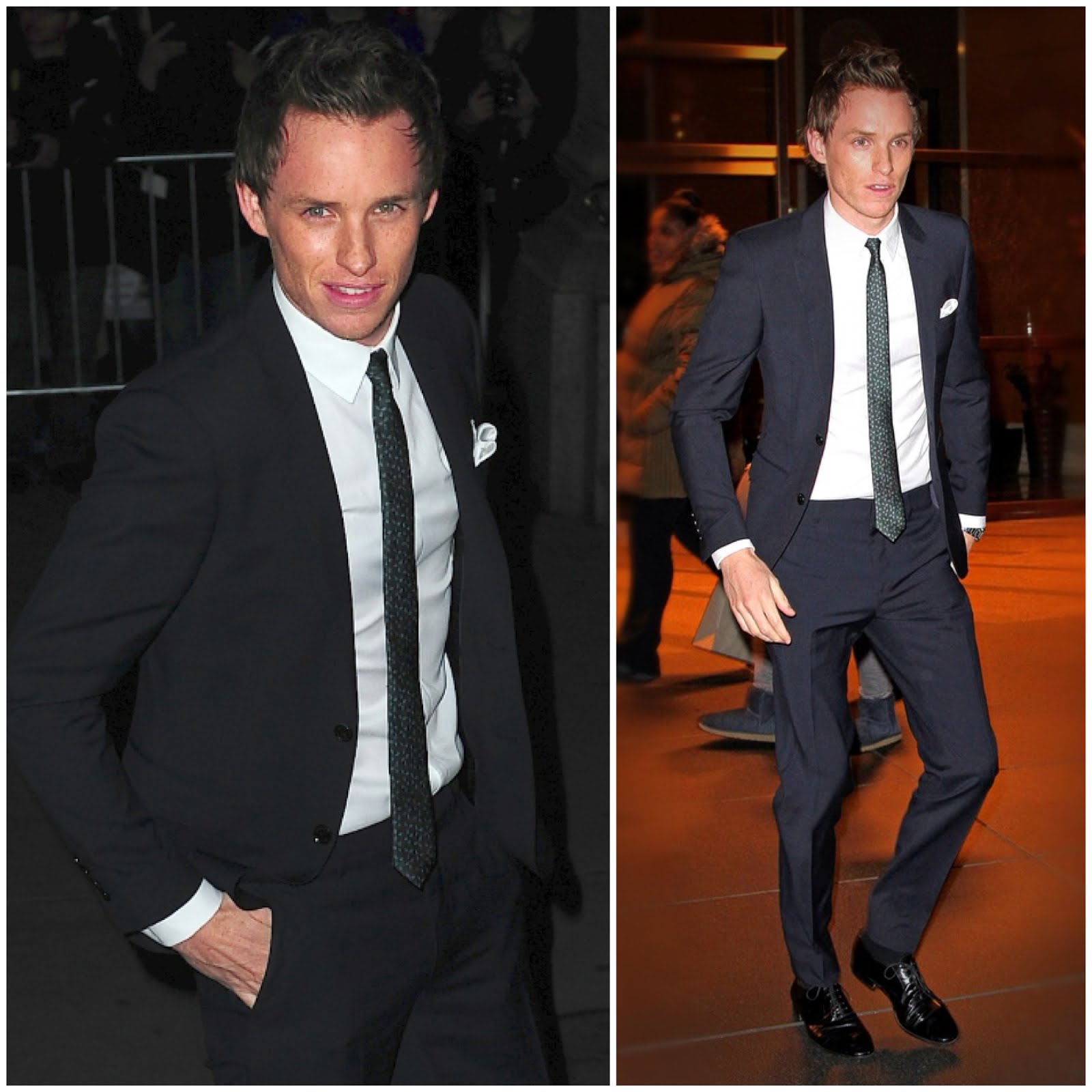 00O00 London Menswear Blog Eddie Redmayne in Burberry tailoring at National Board of Review Awards Gala in New York City