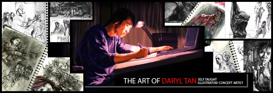 The Art of Daryl Tan