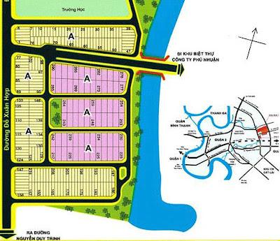 Đất nền KDC Hoàng Anh Gia Lai: sơ đồ