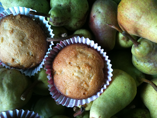 Paleo Almond Meal Pear Muffins