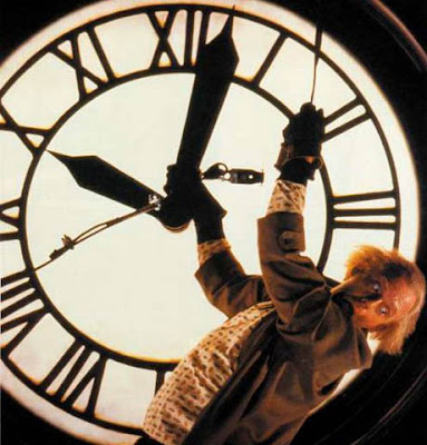 Christopher Loyd clock scene Back to the Future