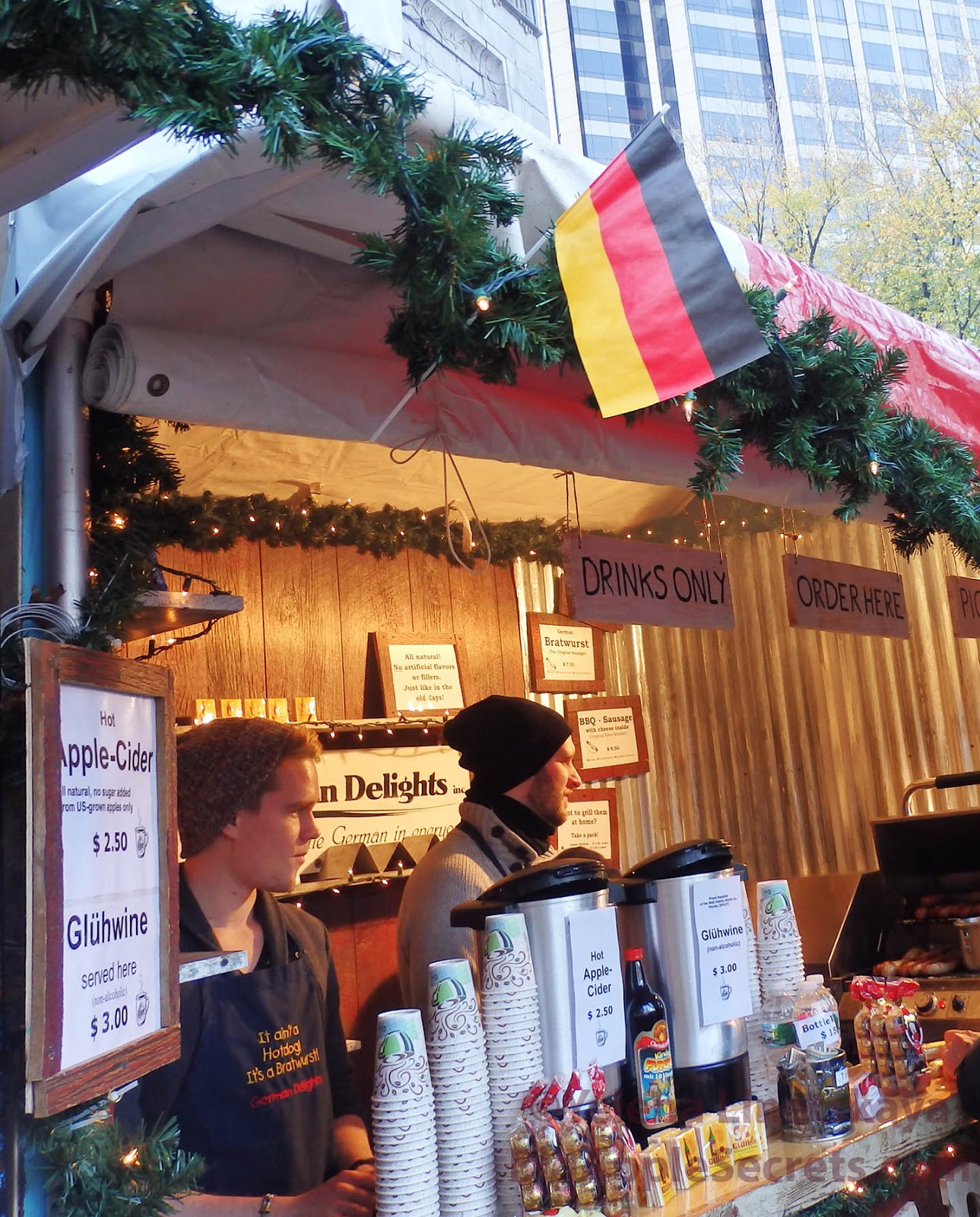 Big Apple Secrets: Christmas markets in New York