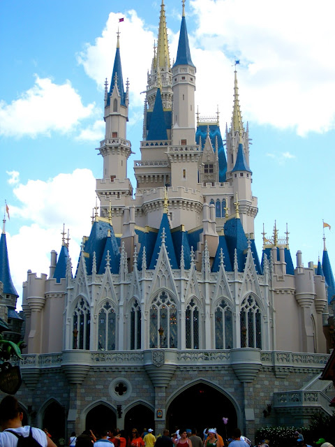 Back of Cinderella Castle - Magic Kingdom, Disney World, Florida