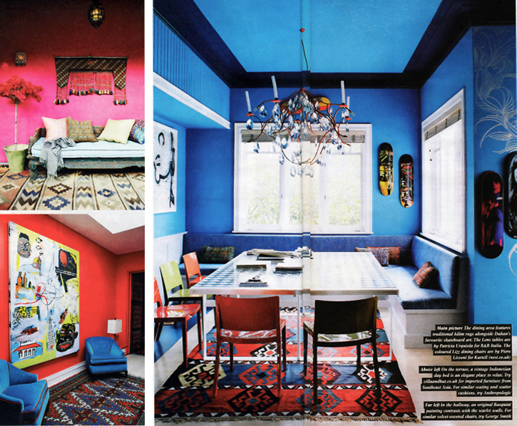Sunday Times Style, Jerome Dahan interiors, ethnic design, ethnic style home deco, Citizen of Humanity Jeans