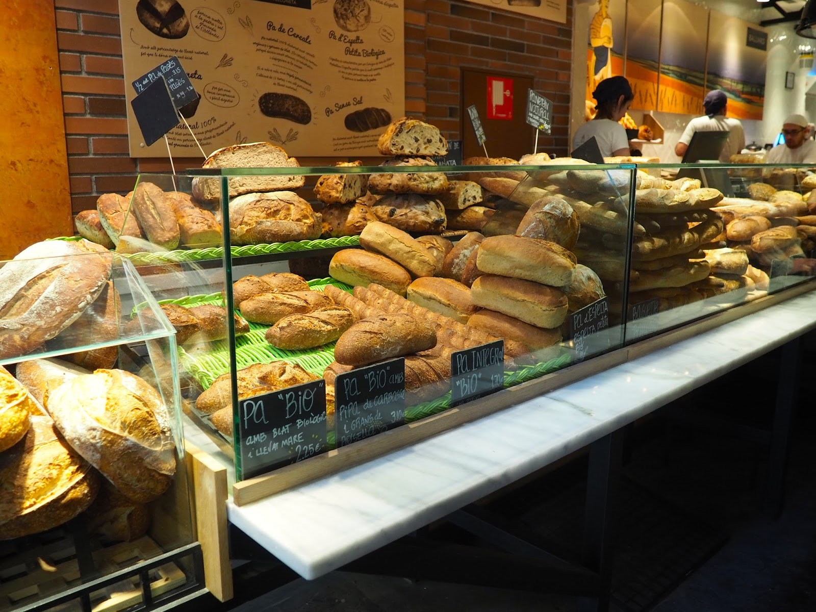 Barcelona Baluard Cafe Bakery Blog Post Review