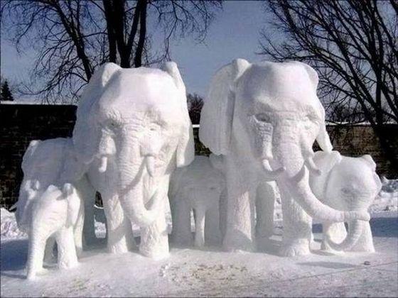 amazing art of snow - photo #23