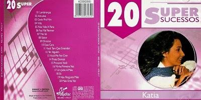 Katia 20 Super Sucessos CD 2014