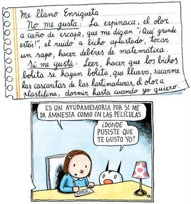 LAS AVENTURAS DE ENRIQUETA, FELLINI Y MADARIAGA (de Liniers ...