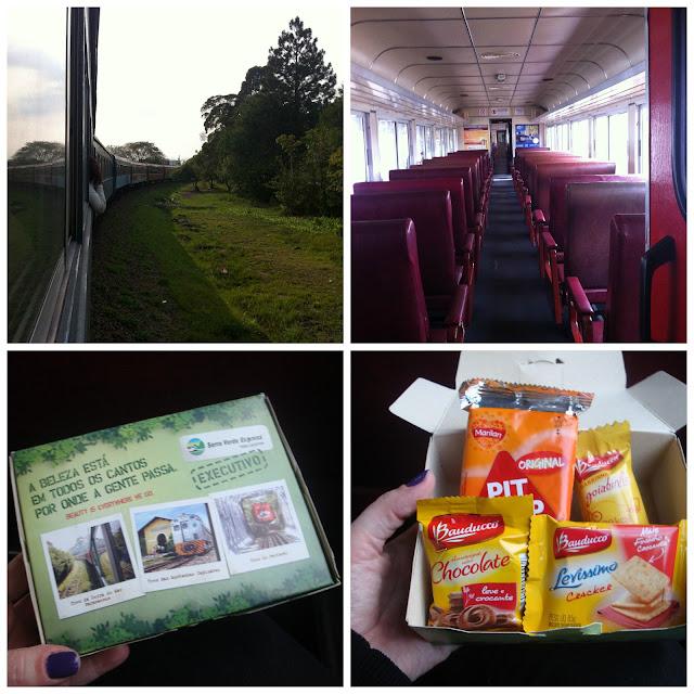 trem para Morretes
