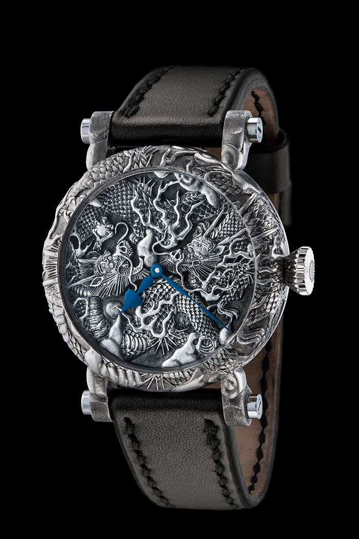 An Ornate Watch Inspired by a Painting in a Japanese Zen Buddhist Temple