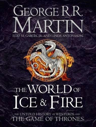 The Wertzone UK cover art for THE WORLD OF ICE AND FIRE