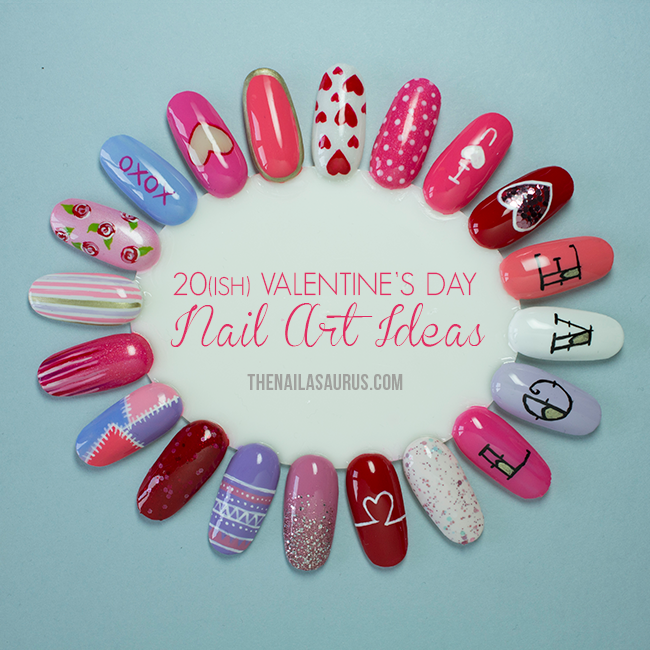 Valentine's Day Nail Art Wheel