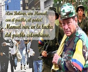 Mit Bolívar, mit Manuel, mit dem Volk zur Macht!