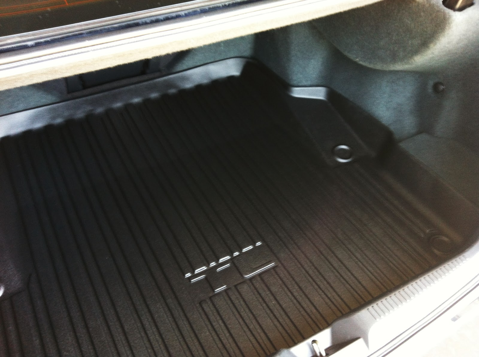 New oem tl all weather trunk mat for cheap acurazine acura enthusiast community