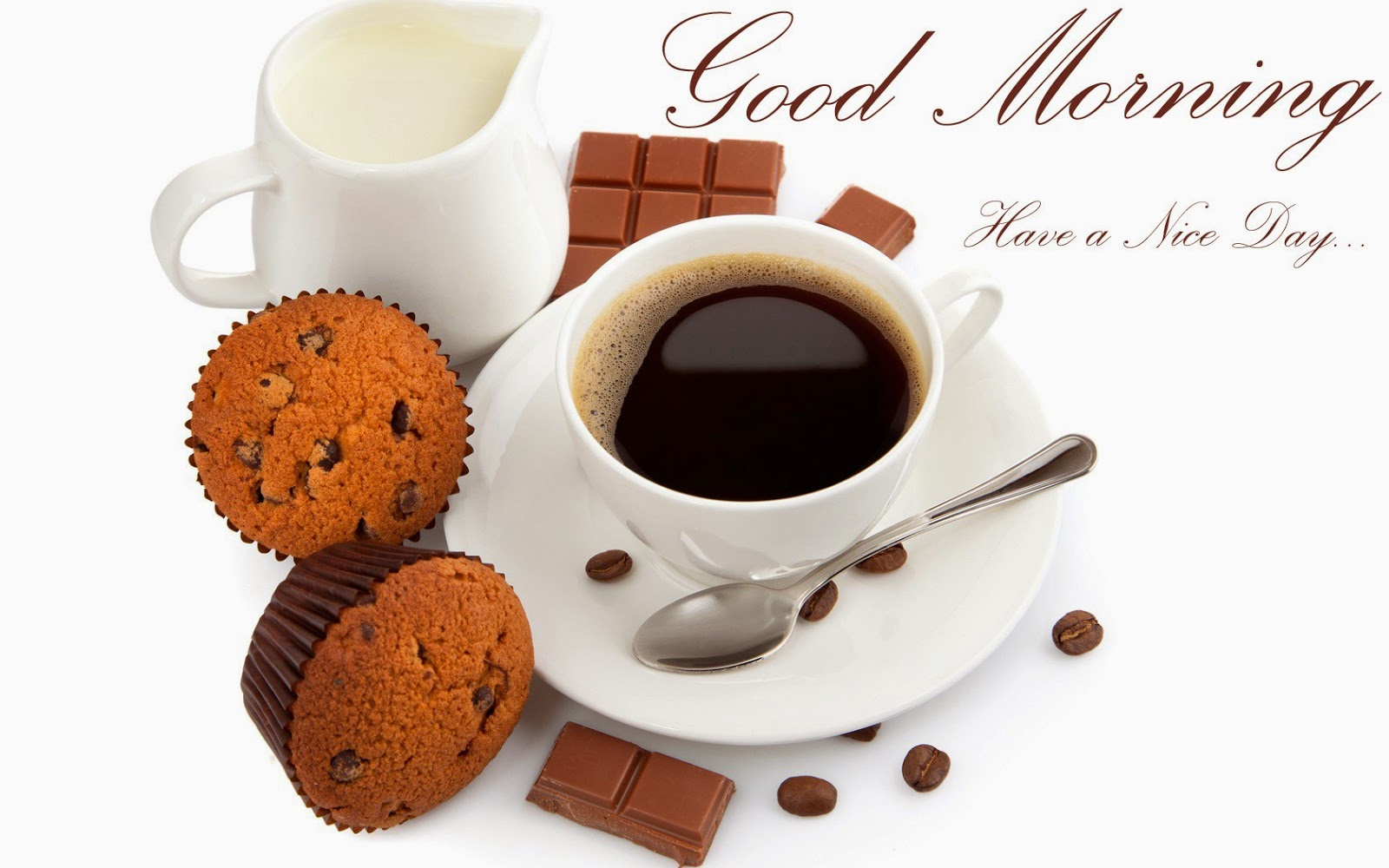 good morning have a nice day Beeakfast sms wishes image