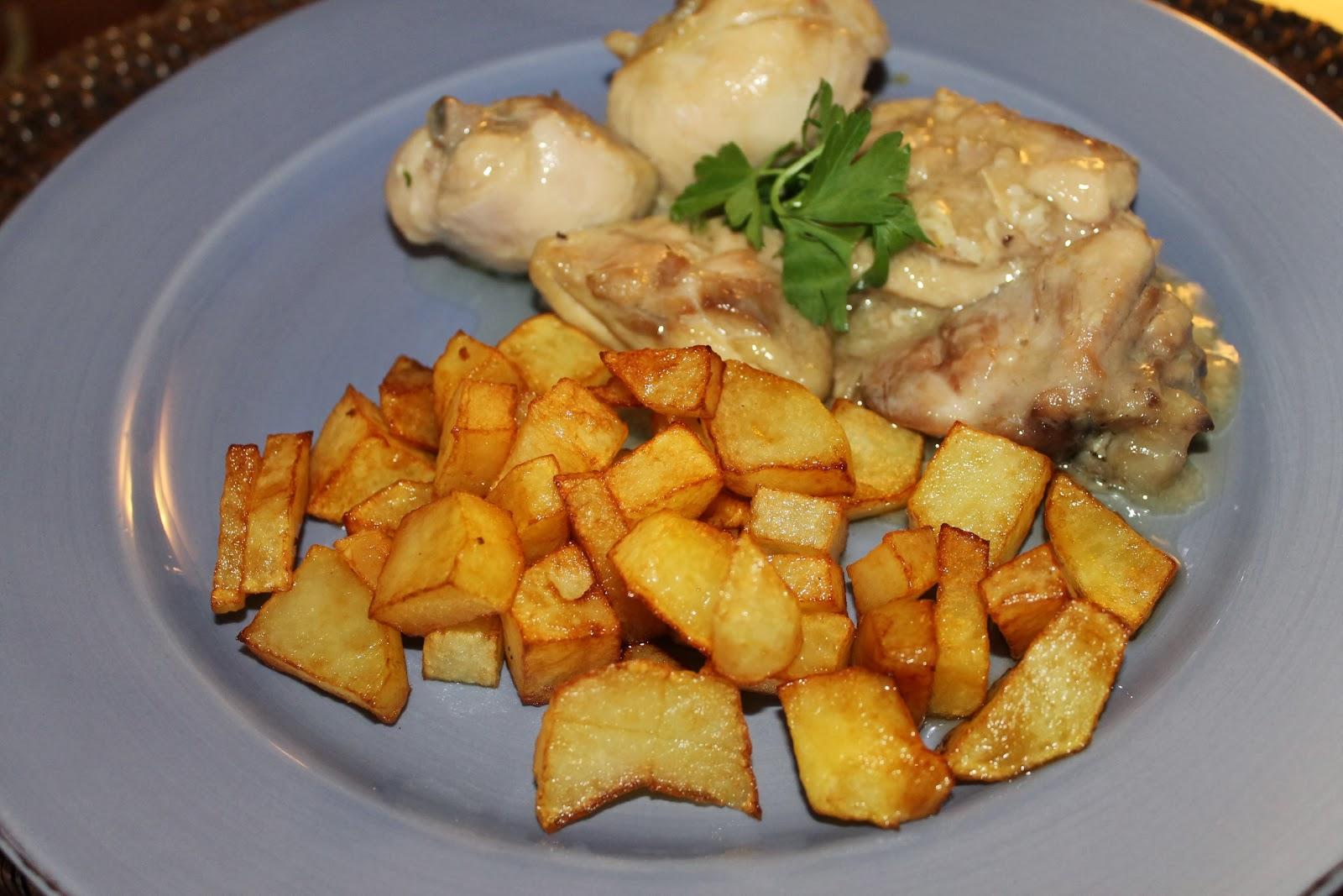 Cocina de nuestro tiempo pollo al ajillo - Cocinar pollo al ajillo ...