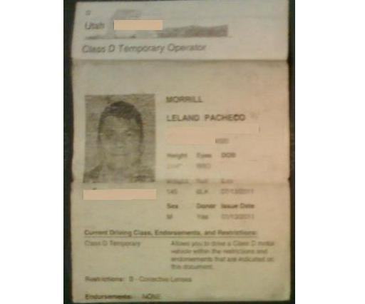 Adopted native americans real id act wouldn 39 t you know for Texas temporary drivers license template