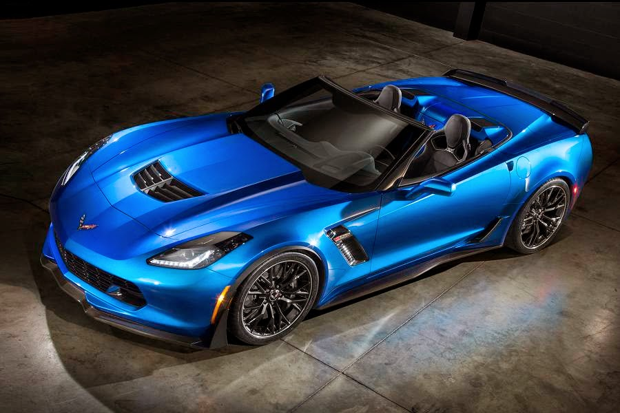 Chevrolet Corvette Z06 Convertible (2015) Front Side