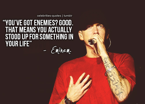 quotes inspirational eminem quotesgram