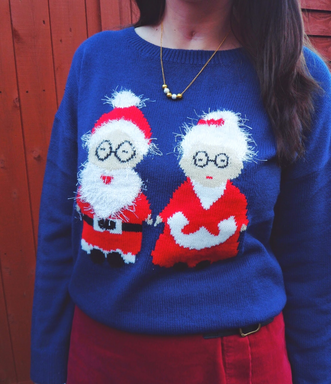 asos, asseenonme, christmas, christmasjumper, asda, georgeatasda, petsathome, wiw, ootd, outfitoftheday, lotd, lookoftheday, whatimwearing, raaijewellery, christmasjumperday, santa, winter