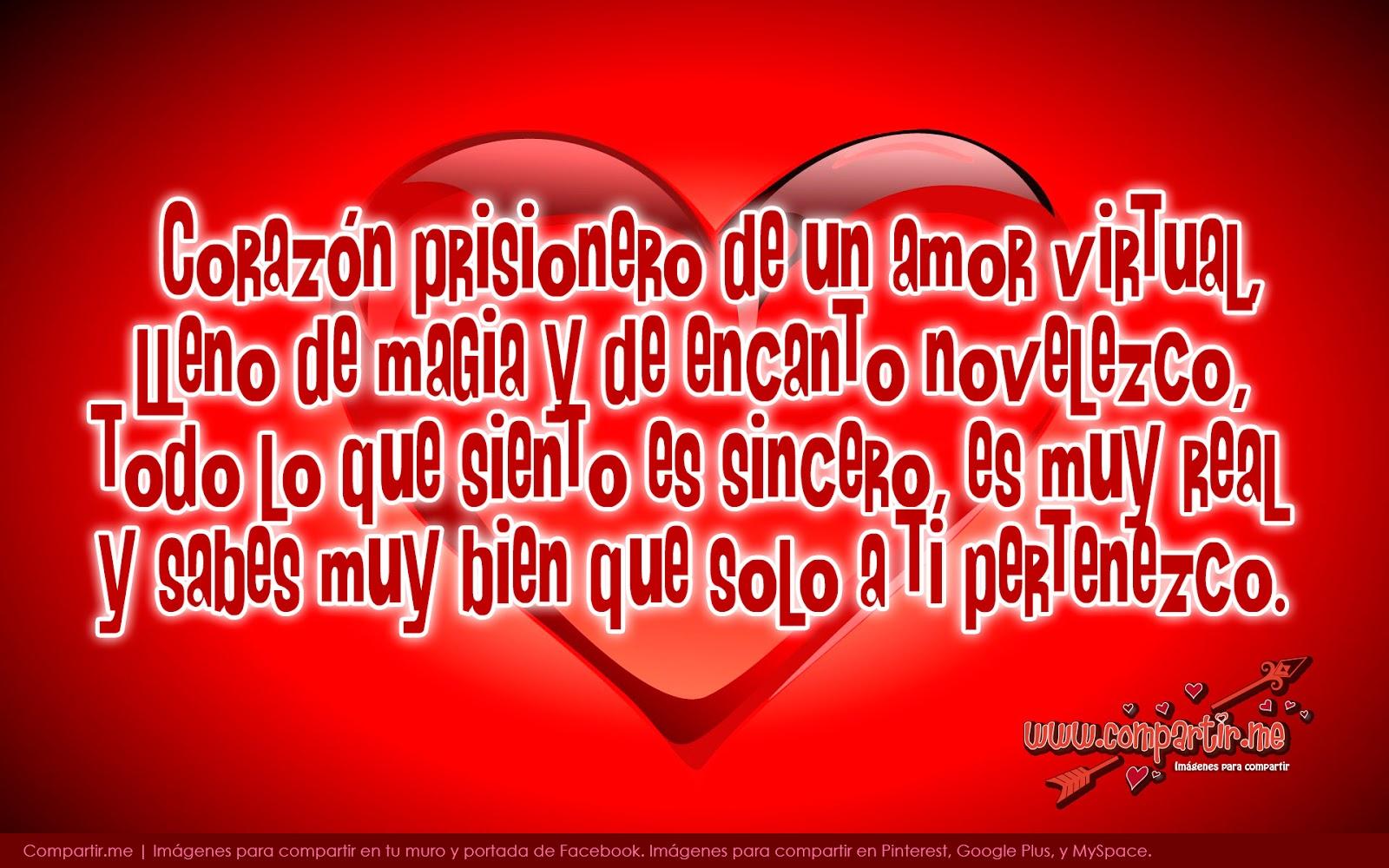 Frases Con Imagenes De San Valentin - Frases y Poemas para San Valentin Facebook