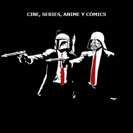 Cine, Series, Anime, Cómics