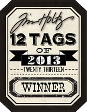 Winner Tim Holtz 12 Tags of 2013