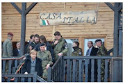 """Il Presidente Tedesco Merkel in visita in Kosovo-""""Villaggio Italia"""""""