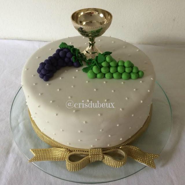 Modelos de bolos para Primeira Eucaristia