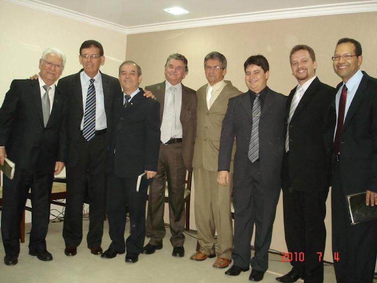 Pastores aniversário da Igreja julho 2009
