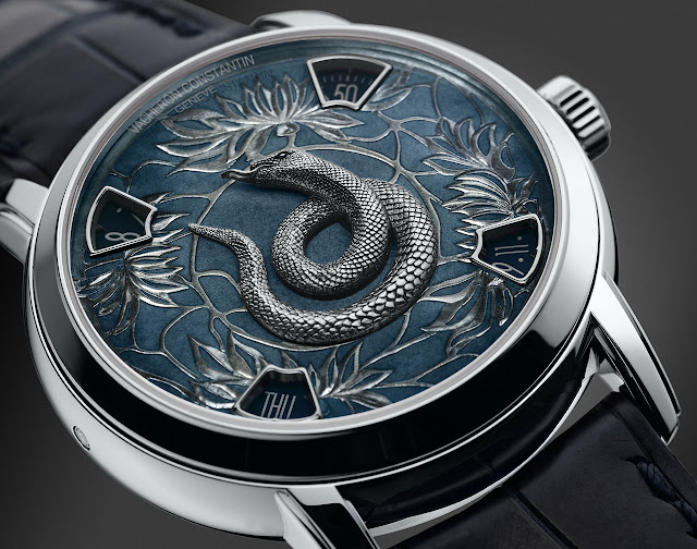Vacheron Constantin - The Legend of the Chinese Zodiac, Year of the Snake model blue