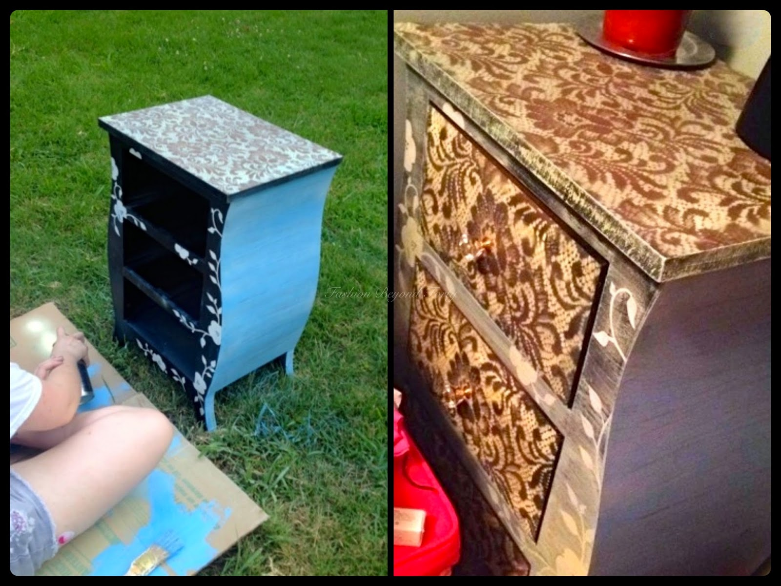 Table - From Little Girl to Shabby Chick