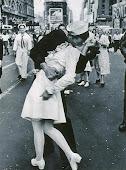 """""""VJ The kiss""""  27 agosto de 1945"""