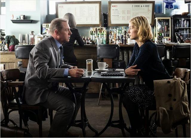 """Simon Pegg y Rosamund Pike en """"Héctor y el secreto de la felicidad"""""""
