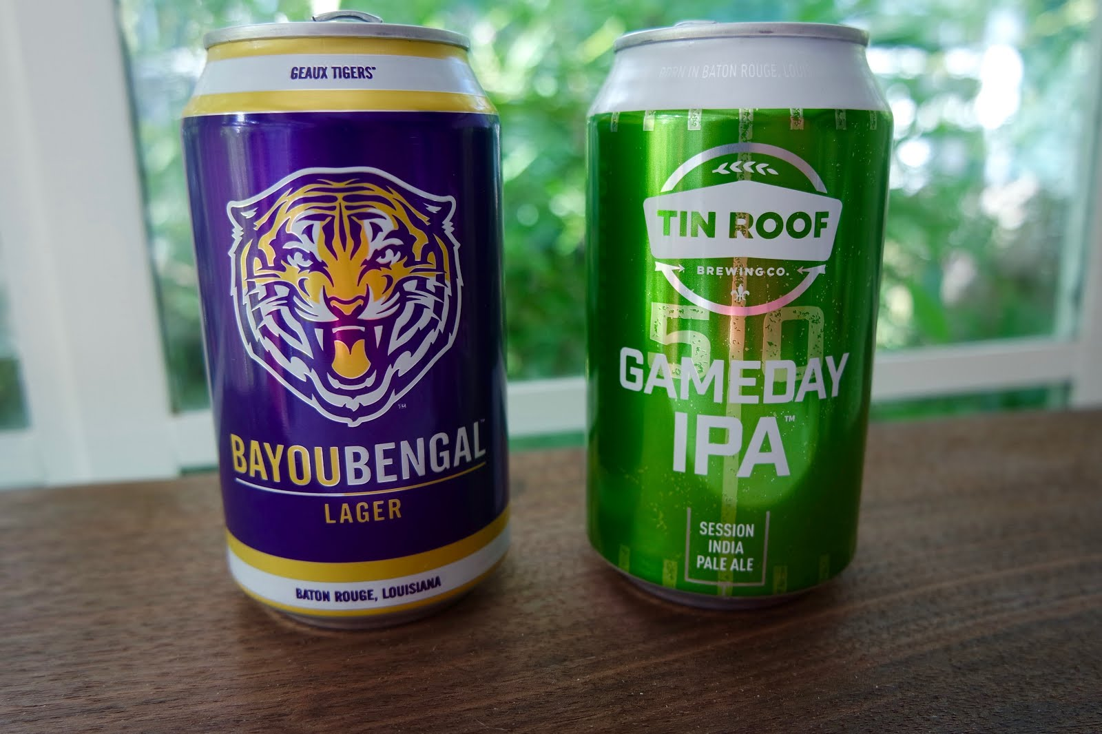 Two Great Tin Roof Tailgating Beers: The Bayou Bengal Lager And Gameday IPA